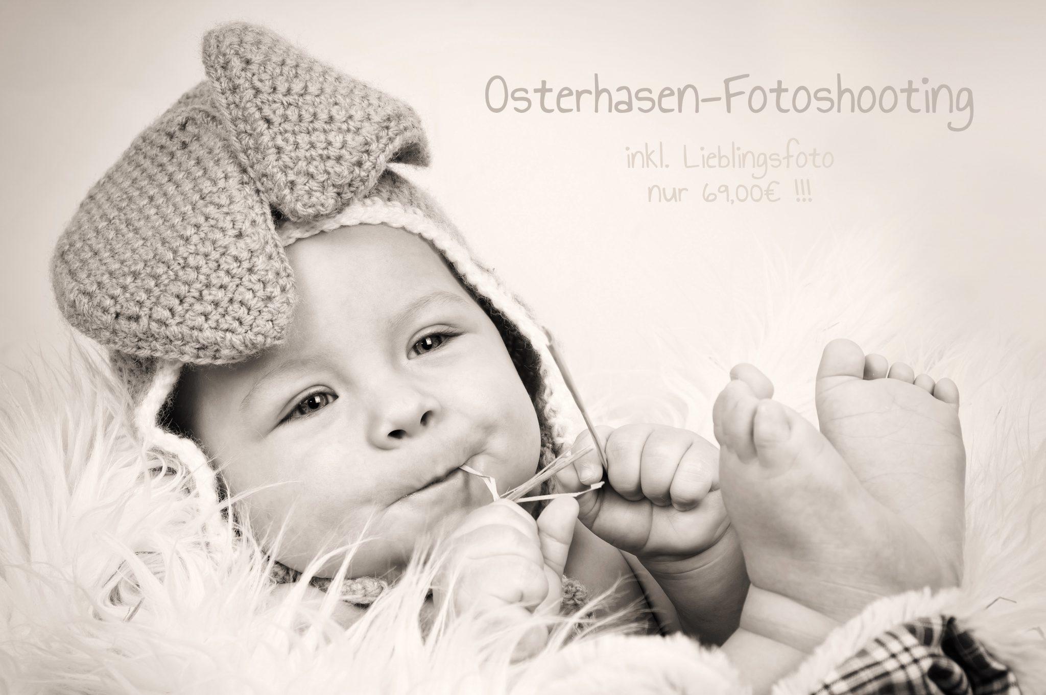 Osterhasenfotoshooting in Rostock