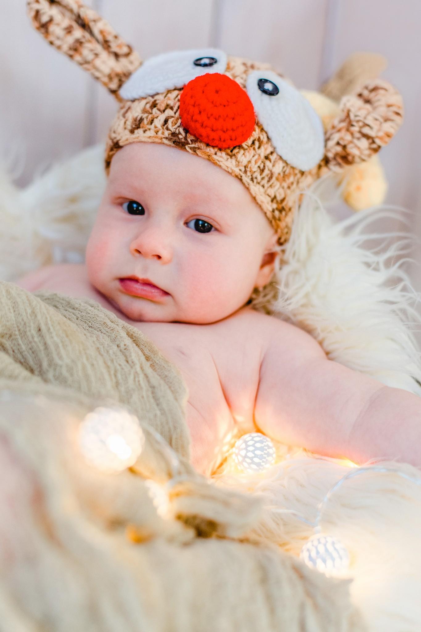 Weihnachten Babyfotos