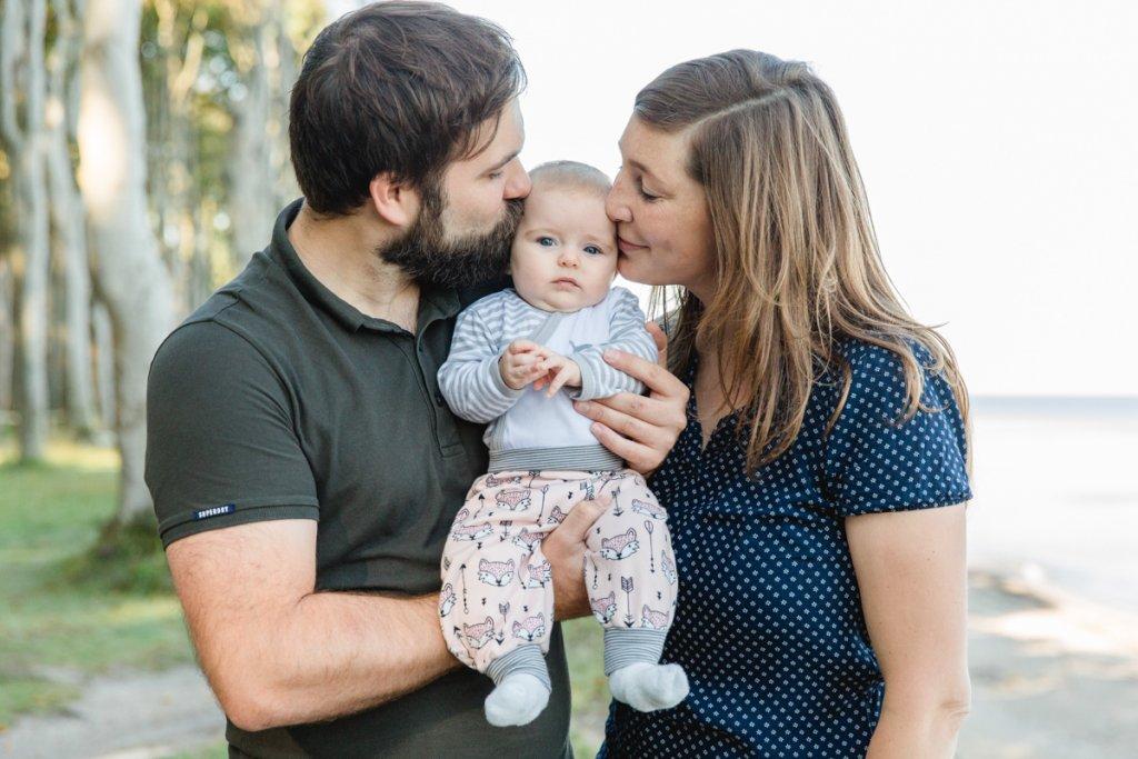 Familienfotos aufgenommen im Gespensterwald.