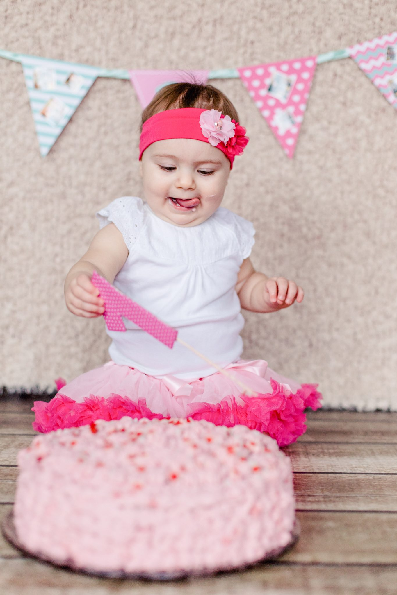 Outfit für ein Cake smash Shooting