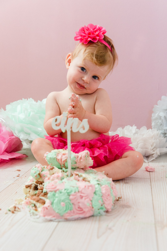 Cake smash fotoshooting in Rostock.